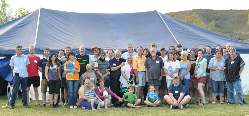 2014 Spring Southern Star Party group photo, by Paul Kruger