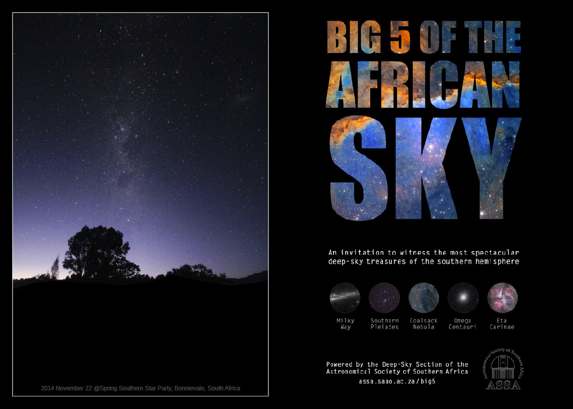 Big 5 of the African Sky